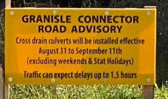 Granisle Connector Delays