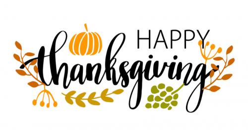 Office Closure – Thanksgiving